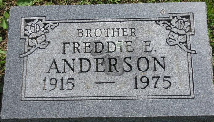 Freddie Edward Anderson