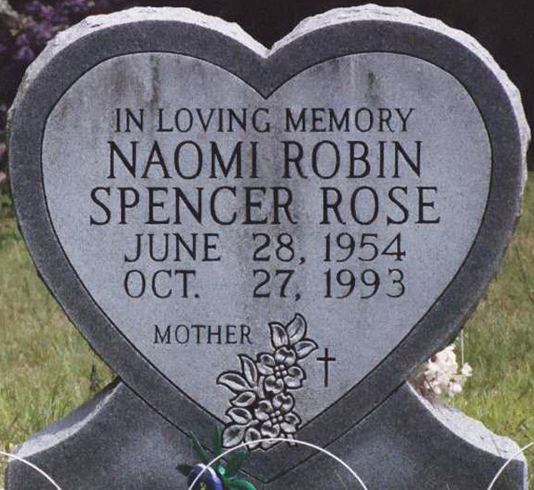 Naomi Robin <i>Spencer</i> Rose
