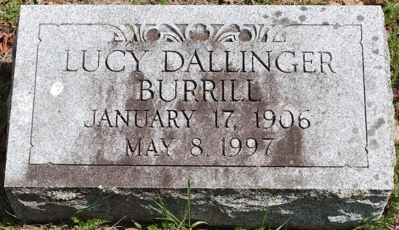 Lucy <i>Dallinger</i> Burrill
