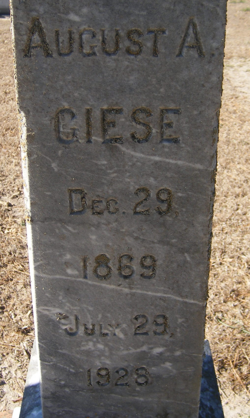 August A Giese