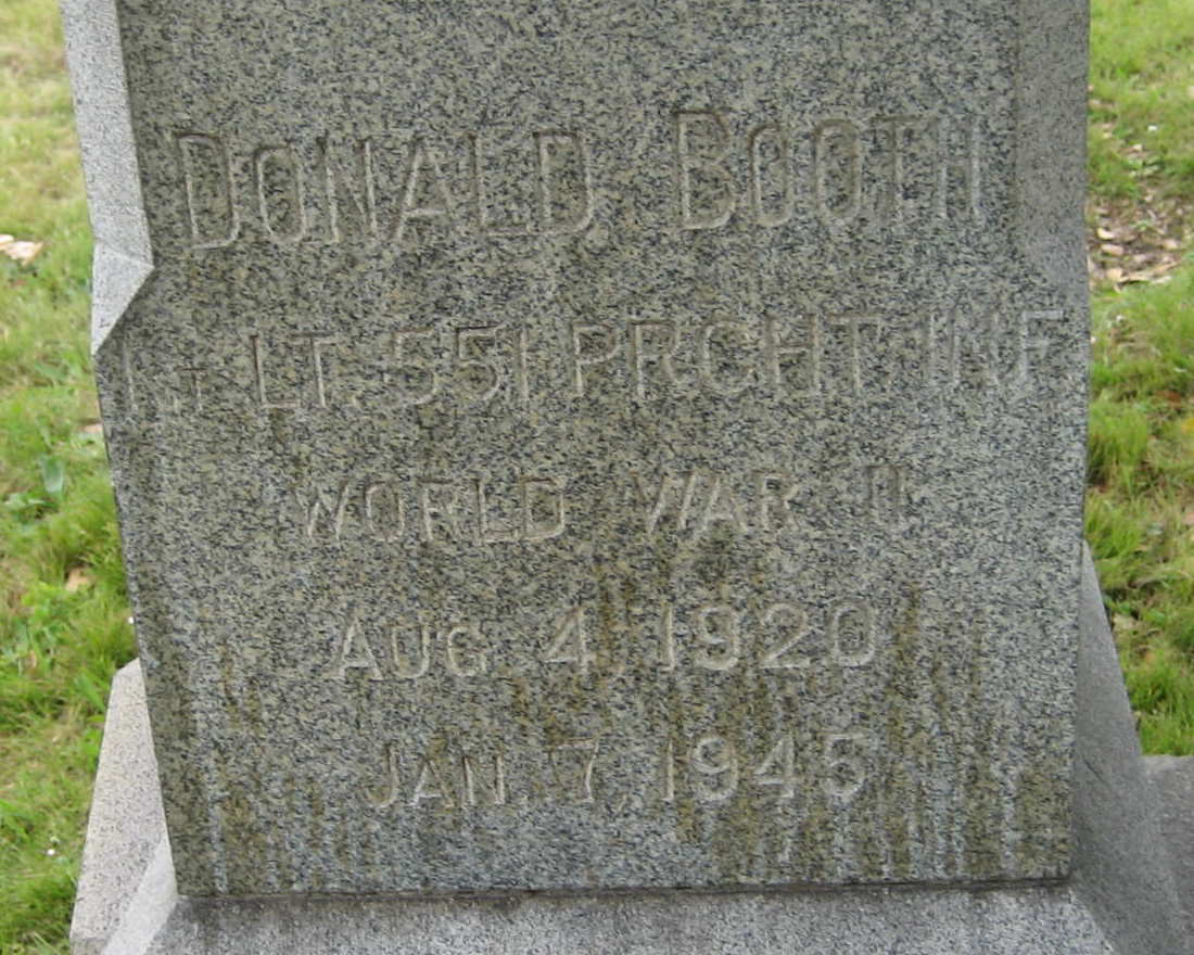 Donald Booth