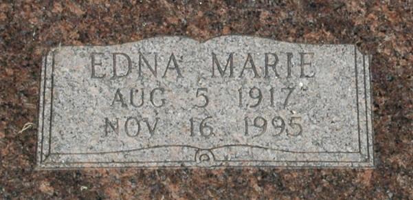 Edna Marie <i>Hoffmaster</i> Boeck