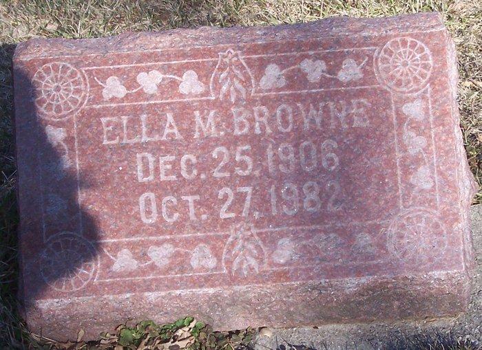 Ella M. Browne