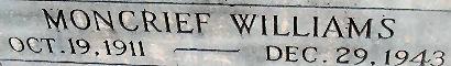 W. H. Moncrief Williams