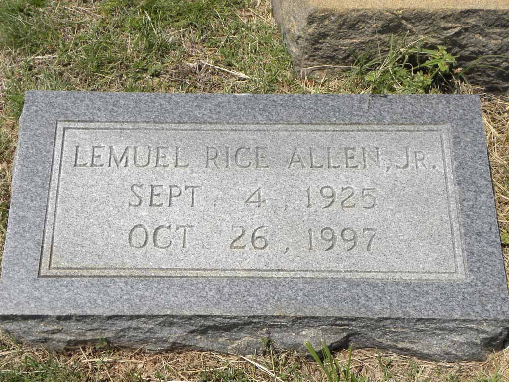 Lemuel Rice Allen, Jr