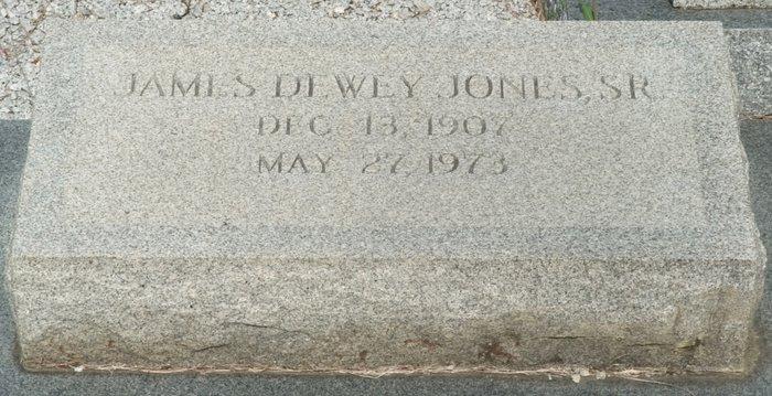 James Dewey Jones, Sr