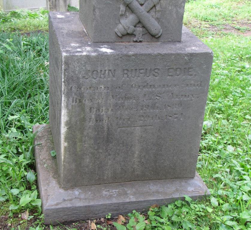 Maj John Rufus Edie, Jr