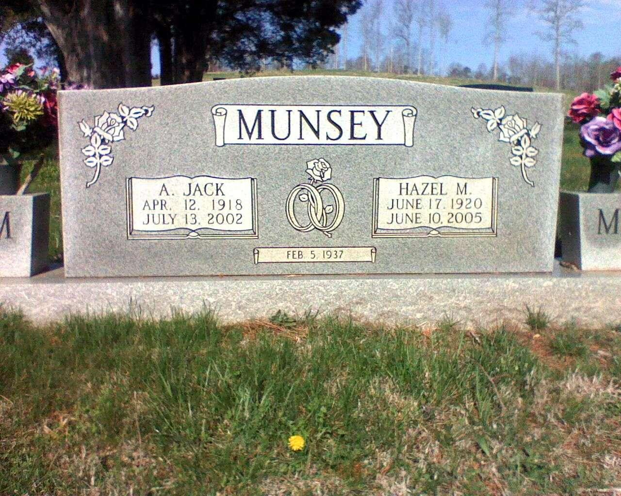 Andrew Jackson Jack Munsey