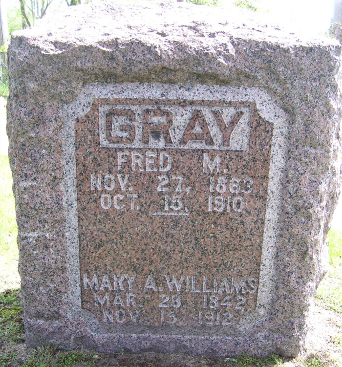 Fred M Gray