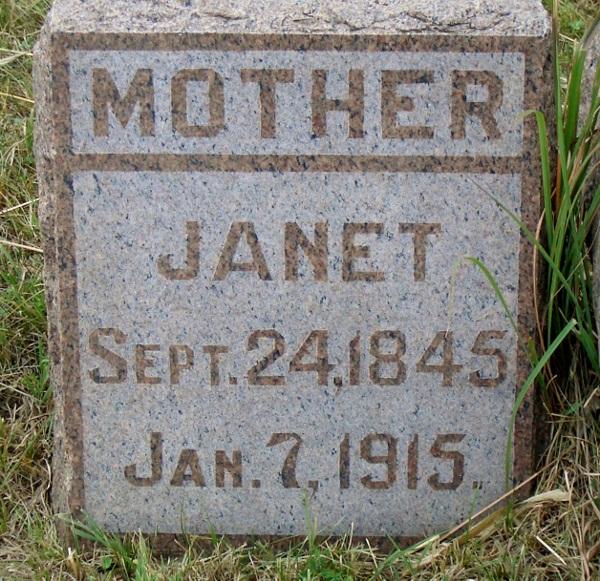 Janet <i>Allen</i> Horrocks