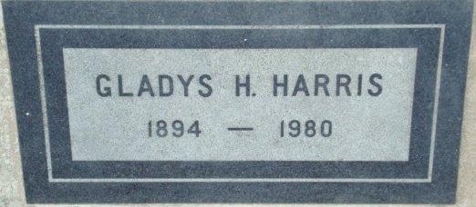 Gladys Hope <i>Sprich</i> Harrison Harris