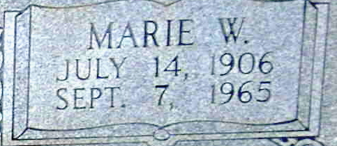 Lena Marie <i>Weatherford</i> Orander