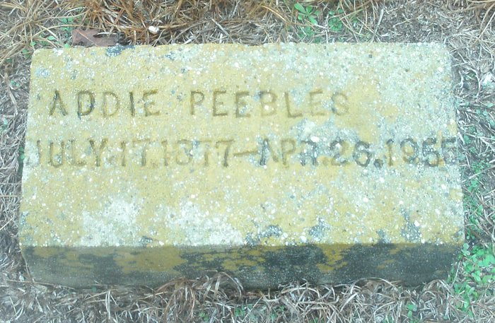 Addie Cordelia Peebles