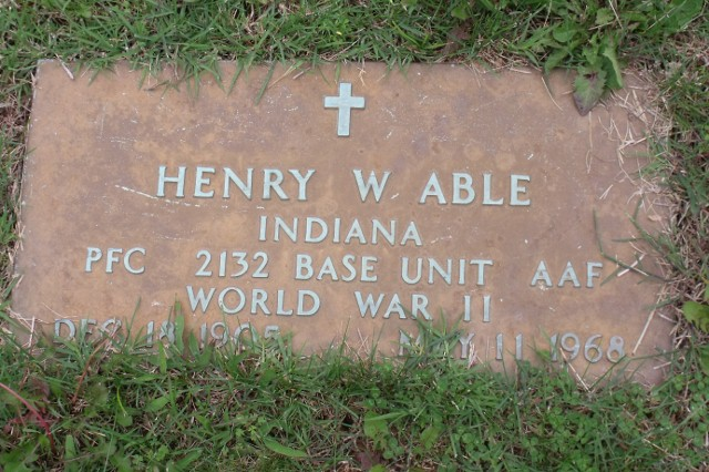 PFC Henry W Able