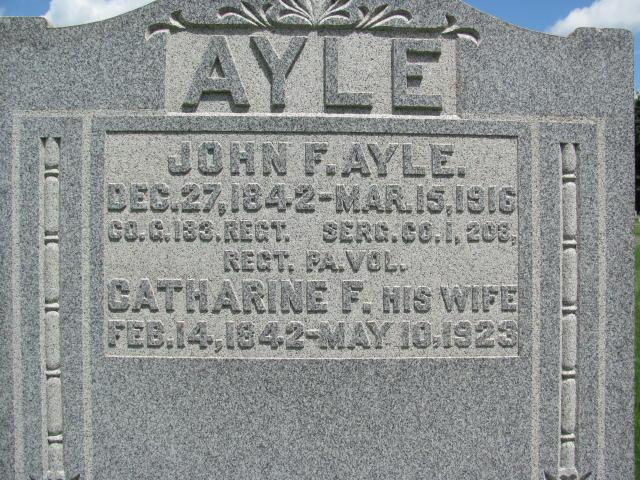 Catherine <i>Baker</i> Ayle