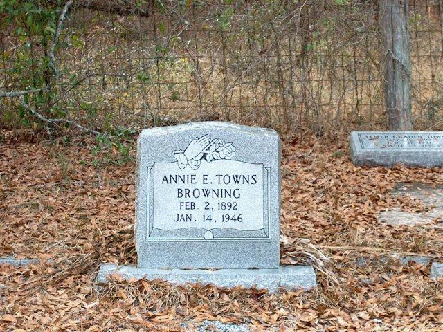 Annie Eliza <i>Towns</i> Browning