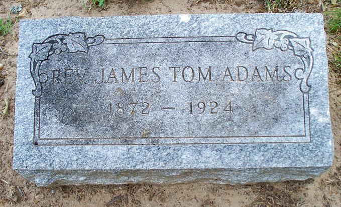 Rev James Tom Adams