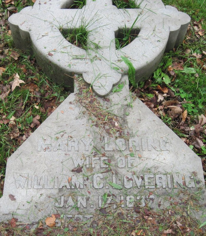 Mrs Mary <i>Loring</i> Lovering