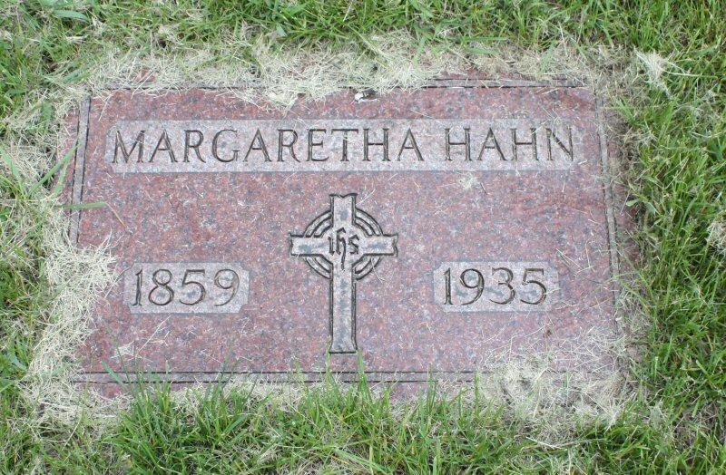 Margaretha <i>Lauer</i> Hahn
