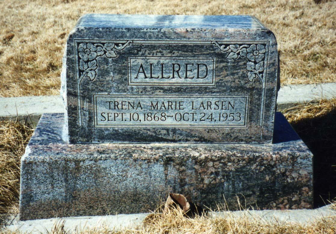 Trena Marie <i>Larsen</i> Allred