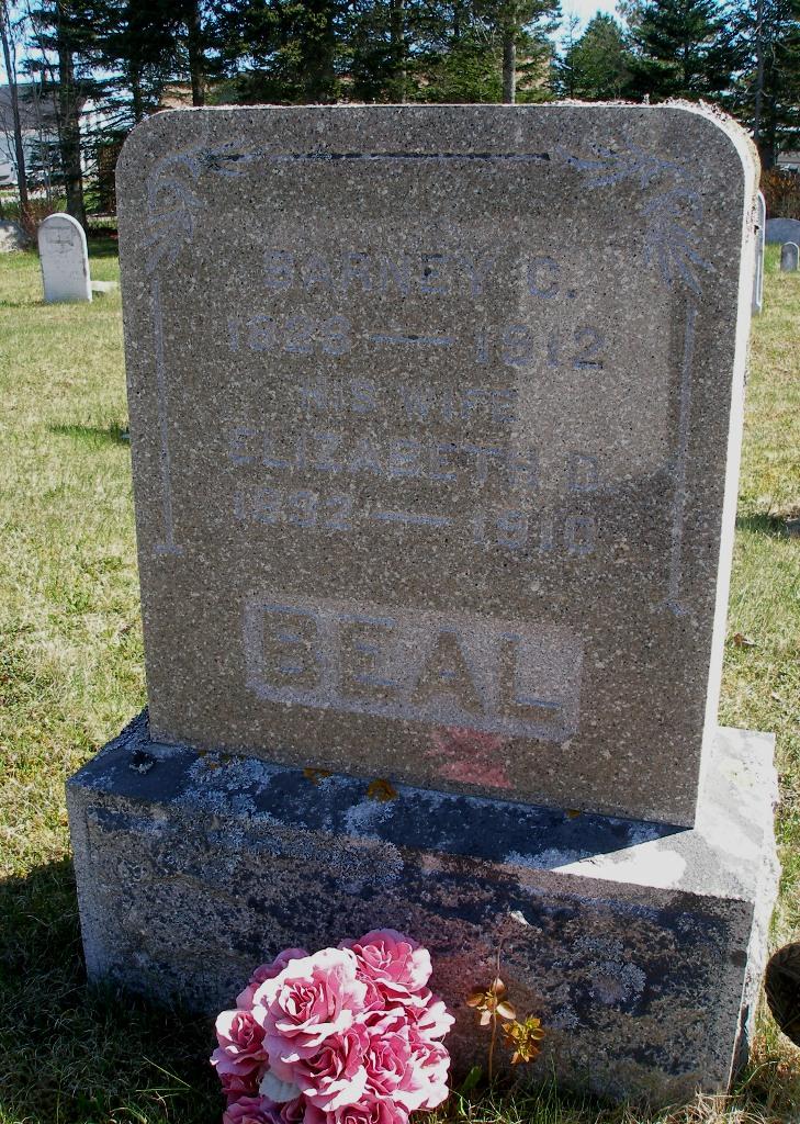 Barnabas Coffin Short Barney Beal