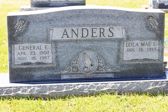 Lola Mae <i>Lanning</i> Anders