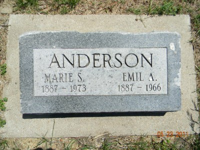 Marie S <i>Myers</i> Anderson