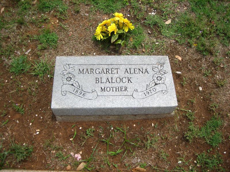 Margeret Alena <i>Orr</i> Blalock