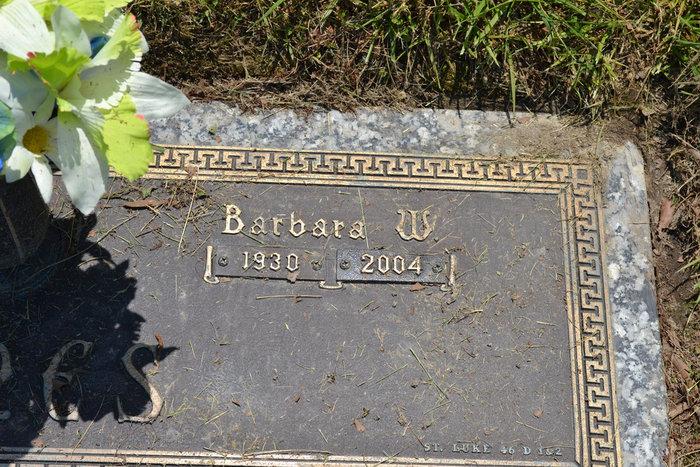 Barbara W Jones