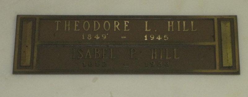 Theodore Lionel Hill