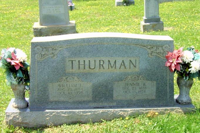 Jennie B Thurman