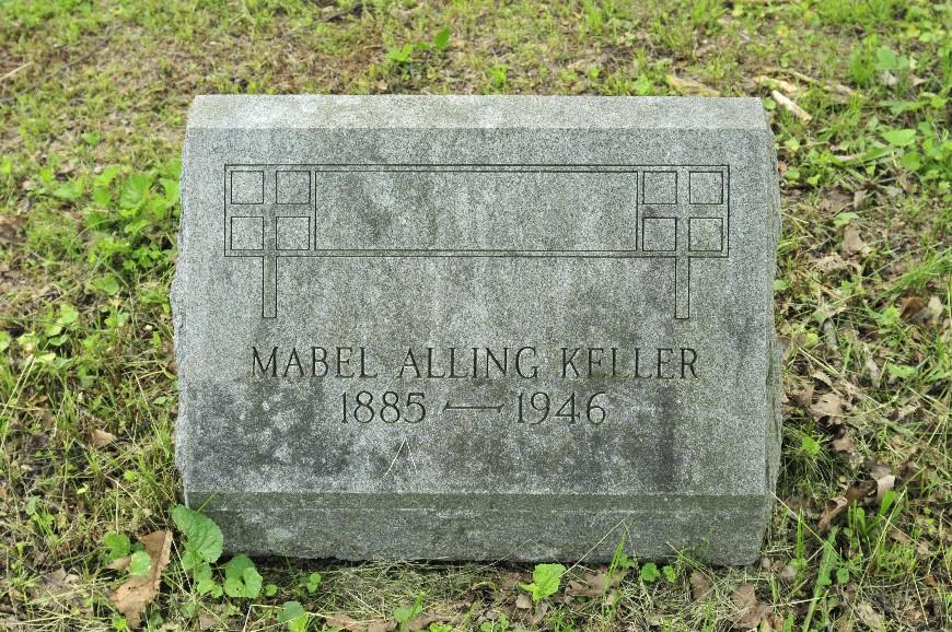Mabel Alice <i>Alling</i> Keller