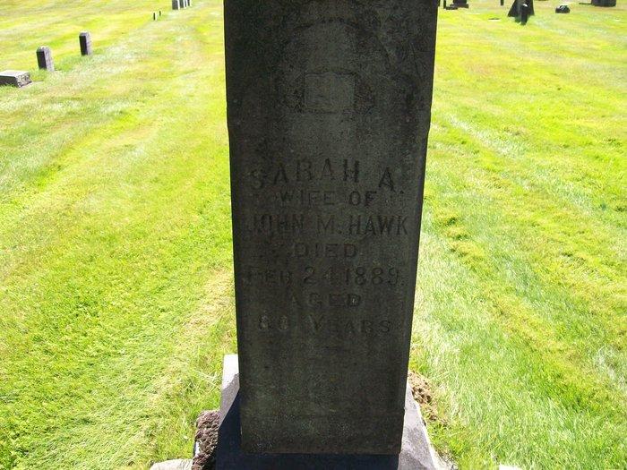 Sarah Ann <i>Stephens</i> Hawk