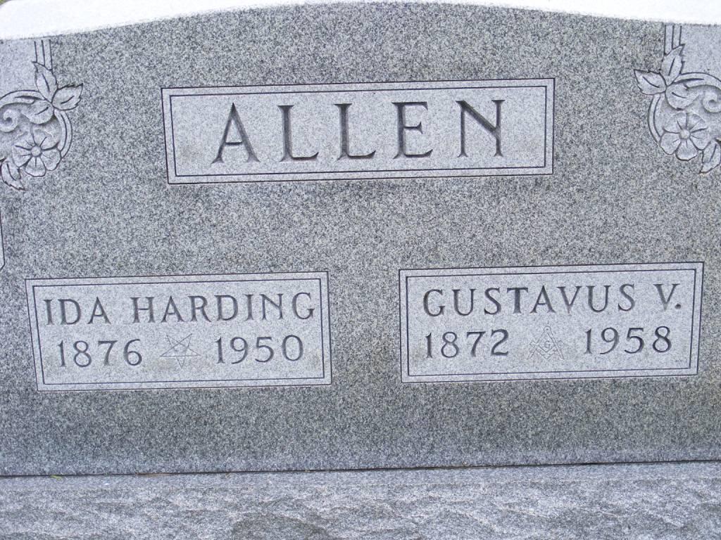 Ida <i>Harding</i> Allen