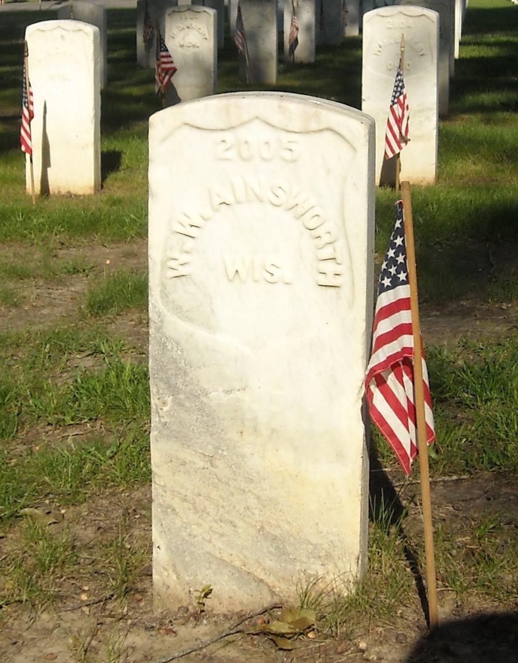 Pvt William W Ainsworth