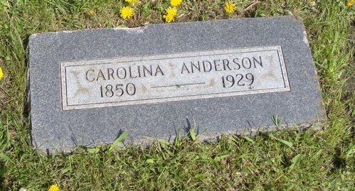 Carolina Anderson