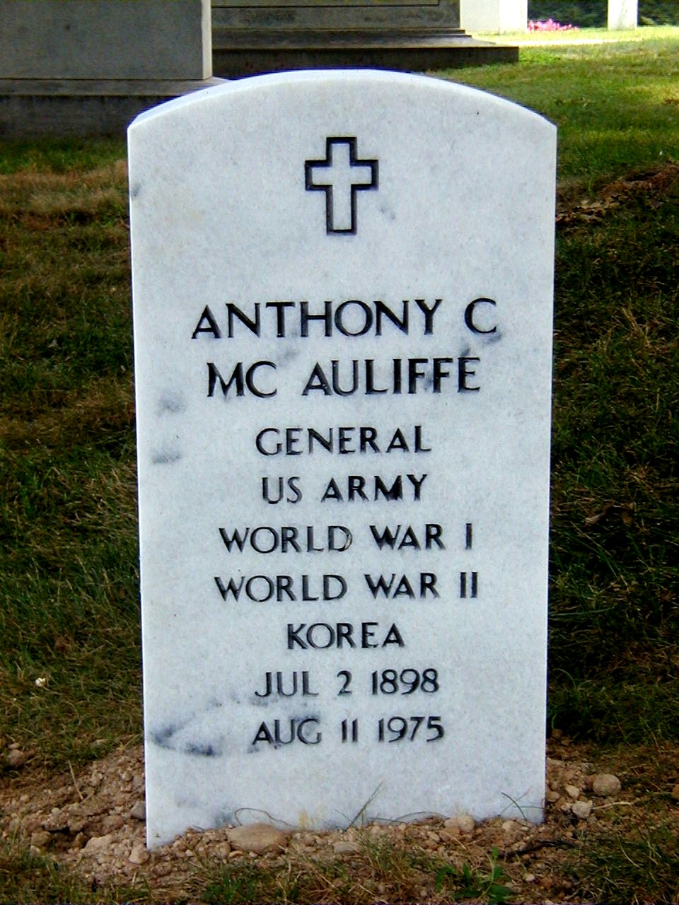 Anthony Clement McAuliffe