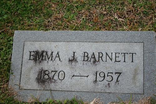 Emma J <i>Thurman</i> Barnett