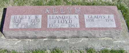 Mrs Gladys F <i>Burkhalter</i> Allyn