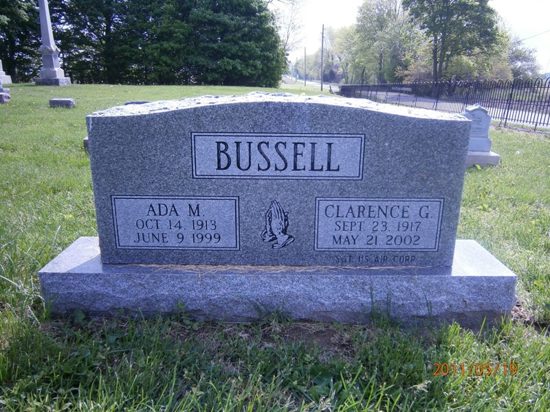 Clarence G Bussell