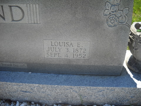 Louisa Etta <i>Gardner</i> Bond