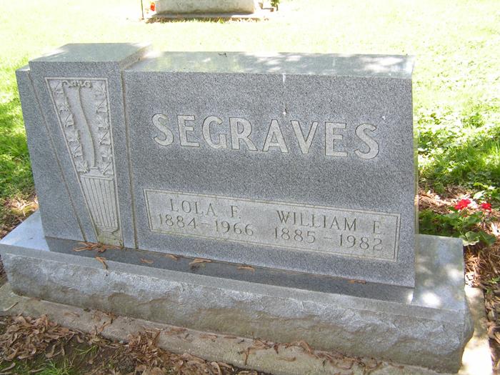 William E Segraves