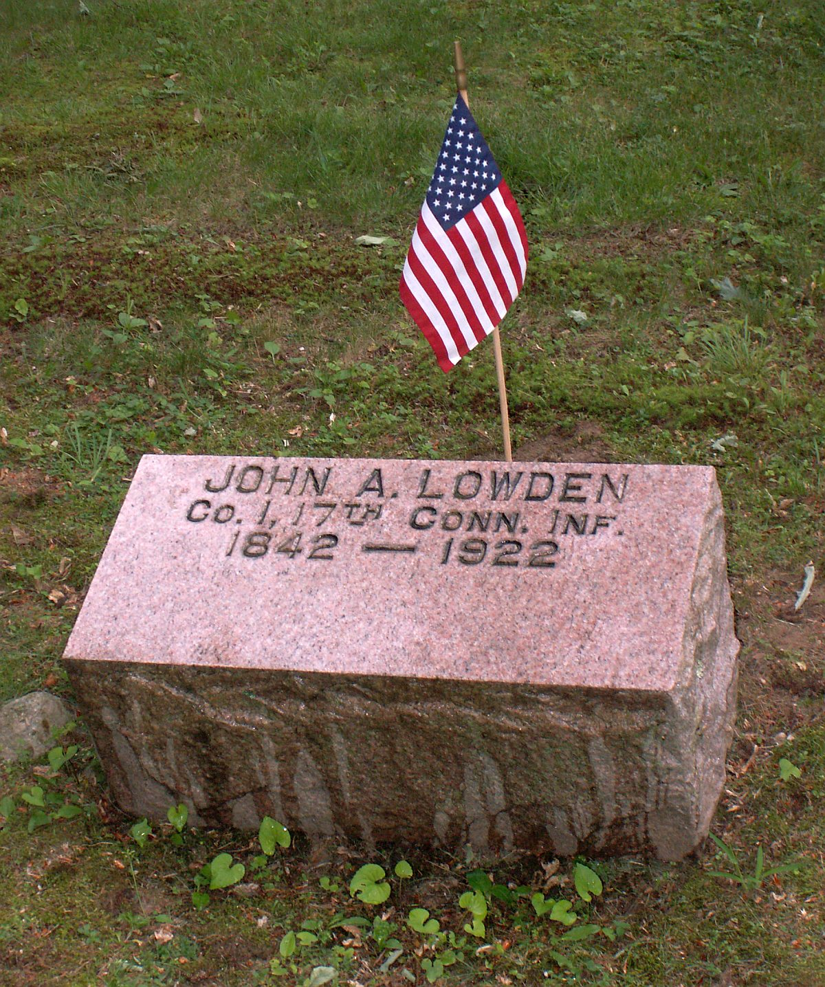 Pvt John Augustus Lowden