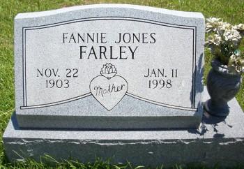 Fannie <i>Jones</i> Farley