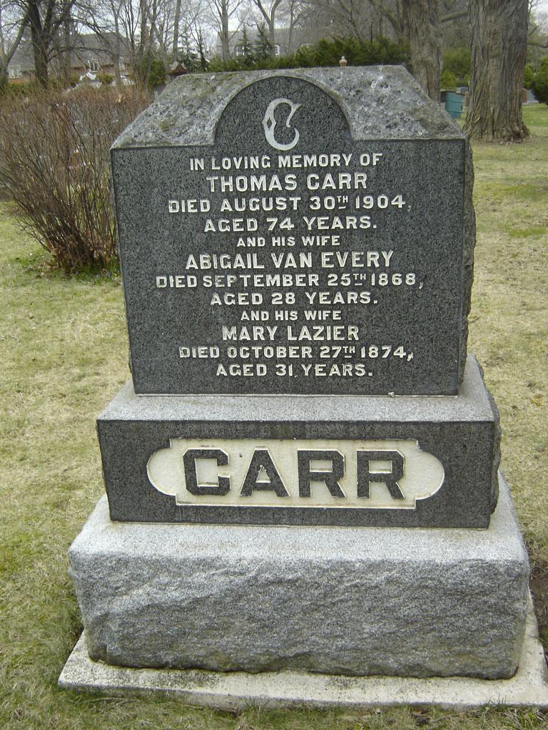 Abigail <i>Van Every</i> Carr