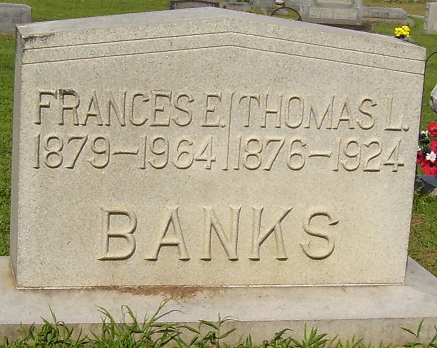 Frances Elizabeth <i>Newhouse</i> Banks