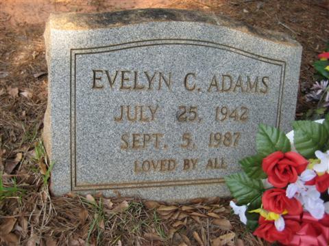 Evelyn C Adams