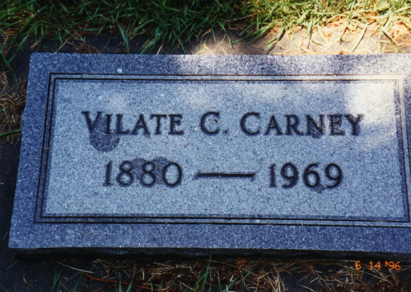 Vilate <i>Chapman</i> Carney