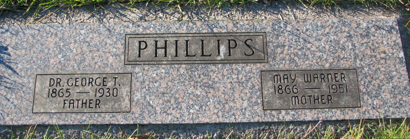 May <i>Warner</i> Phillips
