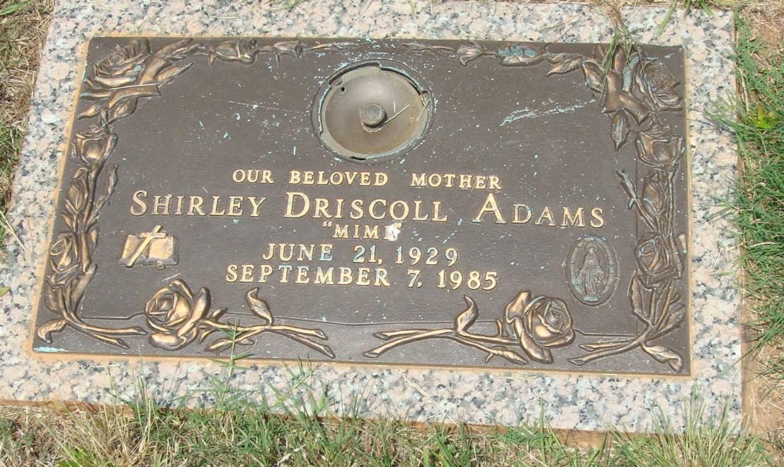 Shirley Meriwether <i>Driscoll</i> Adams